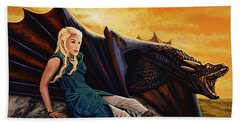 Game Of Thrones Painting Beach Towel