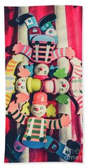 Games Room Of Wooden Circus Play Beach Towel