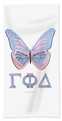 Gamma Butterfly Wings 3d Beach Towel