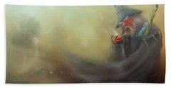 Gandalf Pipe Weed Beach Sheet by Joe Gilronan