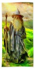 Gandalf, The  Grey Beach Towel