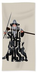 Gandalf - The Lord Of The Rings Beach Towel