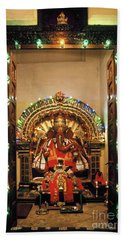 Beach Towel featuring the photograph Ganesh Shrine by Granger