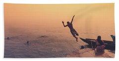 Ganges  Beach Towel