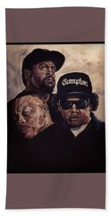 Gangsta Trinity Beach Towel