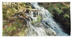 Ganoga Falls 5 - Ricketts Glen Beach Towel