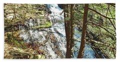 Ganoga Falls - Ricketts Glen Beach Towel