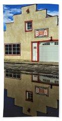 Garage Reflection Beach Sheet