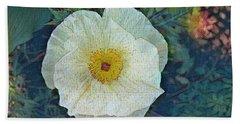 Garden Beauty Beach Sheet by Kathie Chicoine