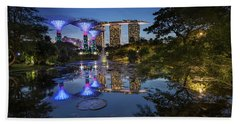 Garden By The Bay, Singapore Beach Towel