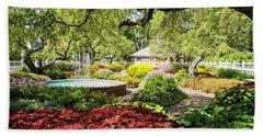 Garden Colors Beach Towel