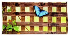 Garden Fence Beach Towel