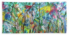 Garden Flourish Beach Towel