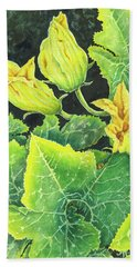 Garden Glow Beach Towel