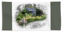Garden House Beach Sheet