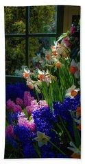 Garden House Delight Beach Towel