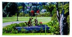 Garden Log Beach Towel