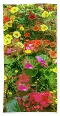Garden Of Color Beach Towel