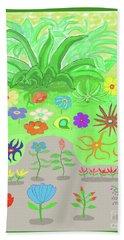 Garden Of Memories Beach Towel by Fred Jinkins