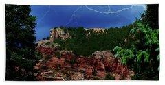 Beach Sheet featuring the digital art Garden Of The Gods by Chris Flees