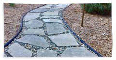 Garden Path Beach Towel by Russell Keating