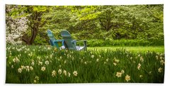 Garden Seats Beach Towel