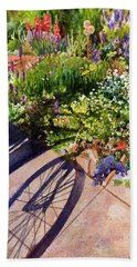Garden Shadows Beach Towel
