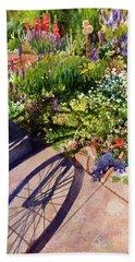 Garden Shadows Beach Sheet