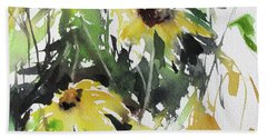 Garden Surprise Beach Towel