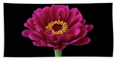Garden Zinnia Beach Towel