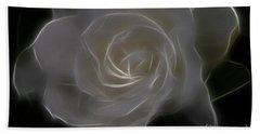 Gardenia Blossom Beach Sheet