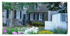 Gardens At The Burton-ingram House - Lewes Delaware Beach Towel