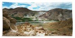 Garuda Valley Tibet Yantra.lv Beach Towel