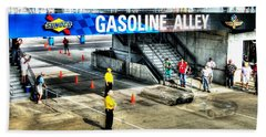 Gasoline Alley Beach Towel