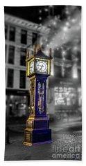 Gastown Steam Clock Beach Sheet