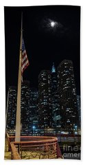 Gate To The West Loop Chicago Beach Towel