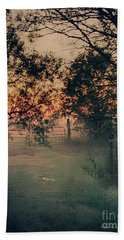 Gated Sunset Beach Towel