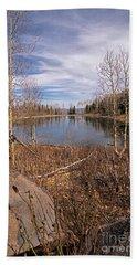 Gates Lake Ut Beach Towel