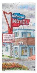 Gatewood Motel In Las Vegas, Nevada Beach Sheet