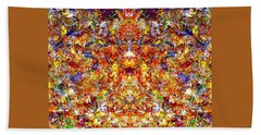 Gathering Of The Leaf Gods Beach Towel