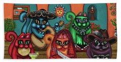 Gatos De Santa Fe Beach Sheet