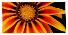 Gazania L Beach Towel