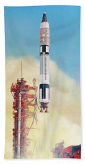 Gemini-titan Launch Beach Towel