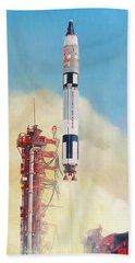 Gemini-titan Launch Beach Towel