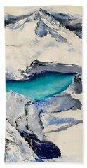 Gemstone Lake Beach Towel