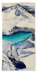 Gemstone Lake Beach Towel