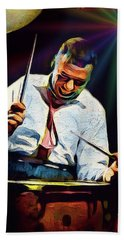 Gene Krupa Beach Towel