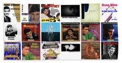 Gene Pitney 1 Beach Towel