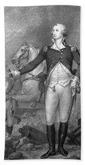 General George Washington At Trenton Beach Towel