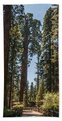 General Grant Tree Kings Canyon National Park Beach Towel